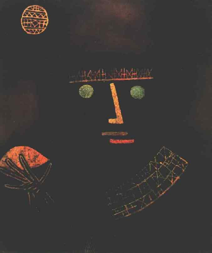 Klee Black Knight, 1927, North Rhine-Westfalia State Collect
