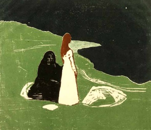 edvard munch_two women on the shore